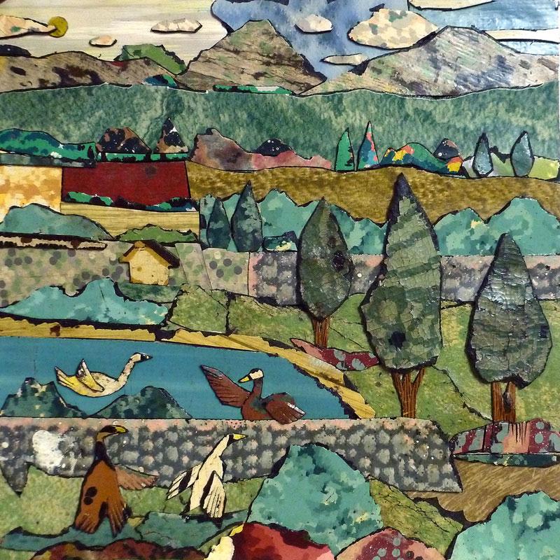 The Linoleum Art Of Bill Miller